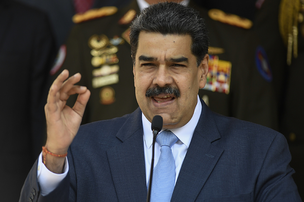 Venezuelan President Nicolás Maduro Has Allegedly Been Trafficking Cocaine Into The US For 20 Years