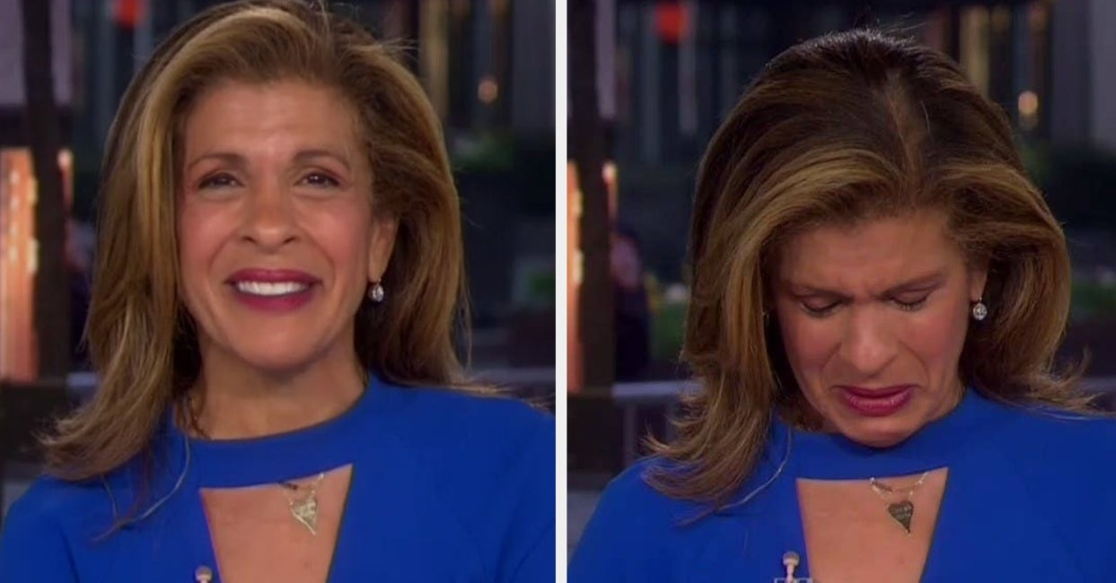 """Hoda Kotb Received An Outpouring Of Support After Breaking Down In Tears On The """"Today"""" Show"""