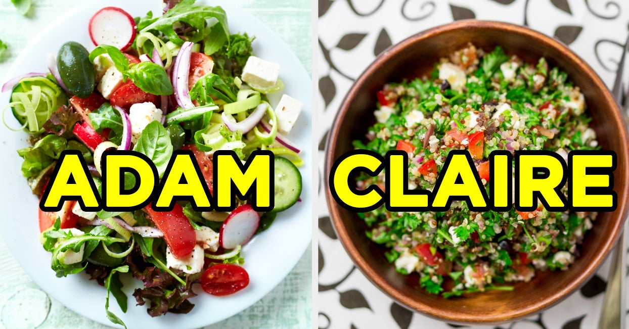 We Know Your Future Soulmate's Name Based On The Salad You Make