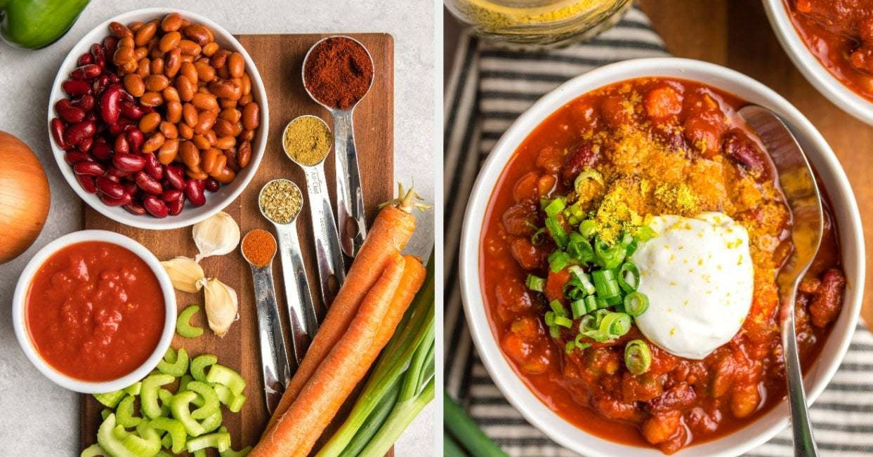 32 Vegan Recipe Ideas You Can Make With Pantry Staples, Cans Of Vegetables, And Ingredients You Already Have At Home