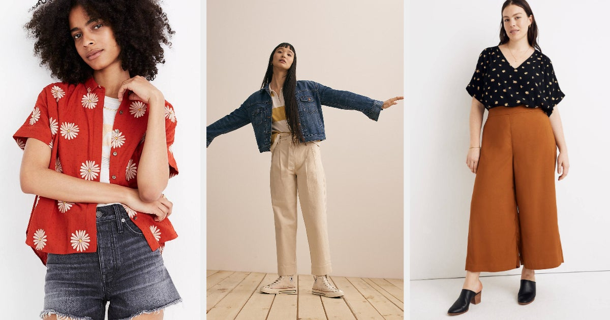 Madewell Is Having A Rare Sale, In Case You Need Some New WFH Duds