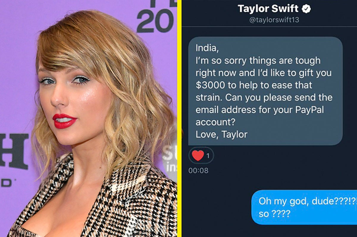 Taylor Swift Donates 15 000 To Fans Affected By The Coronavirus