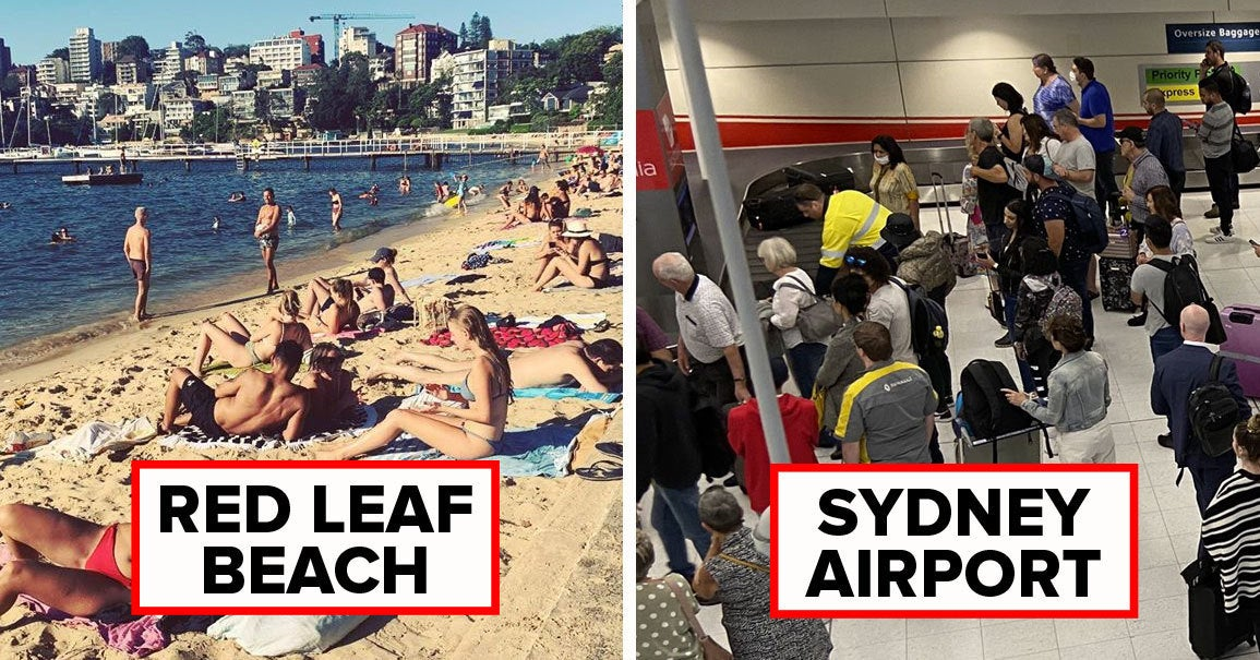 """14 Pictures That Show How Poorly """"Social Distancing"""" Went In Sydney This Week"""