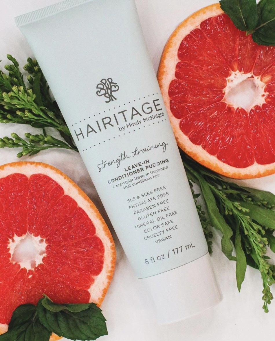 The leave-in conditioner