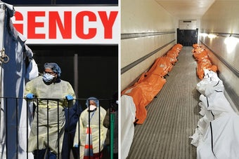 A Nurse Shared A Harrowing Photo Of COVID-19 Victims To Show How Horrifying The Outbreak Is