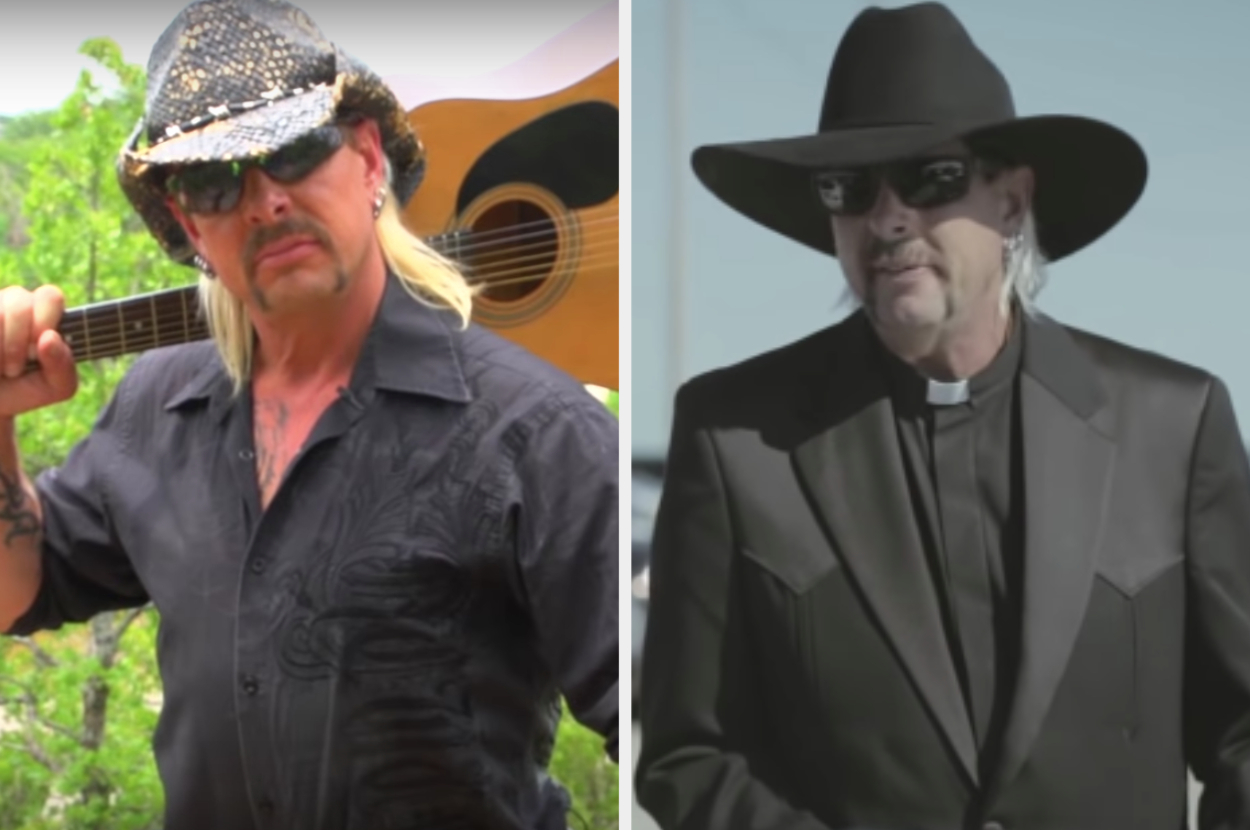 Joe Exotic's Songs Aren't Sung By Him – Here's Who Actually Sings Them