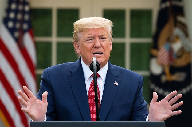 Trump Is Now Recommending Americans Practice Social Distancing Until April 30