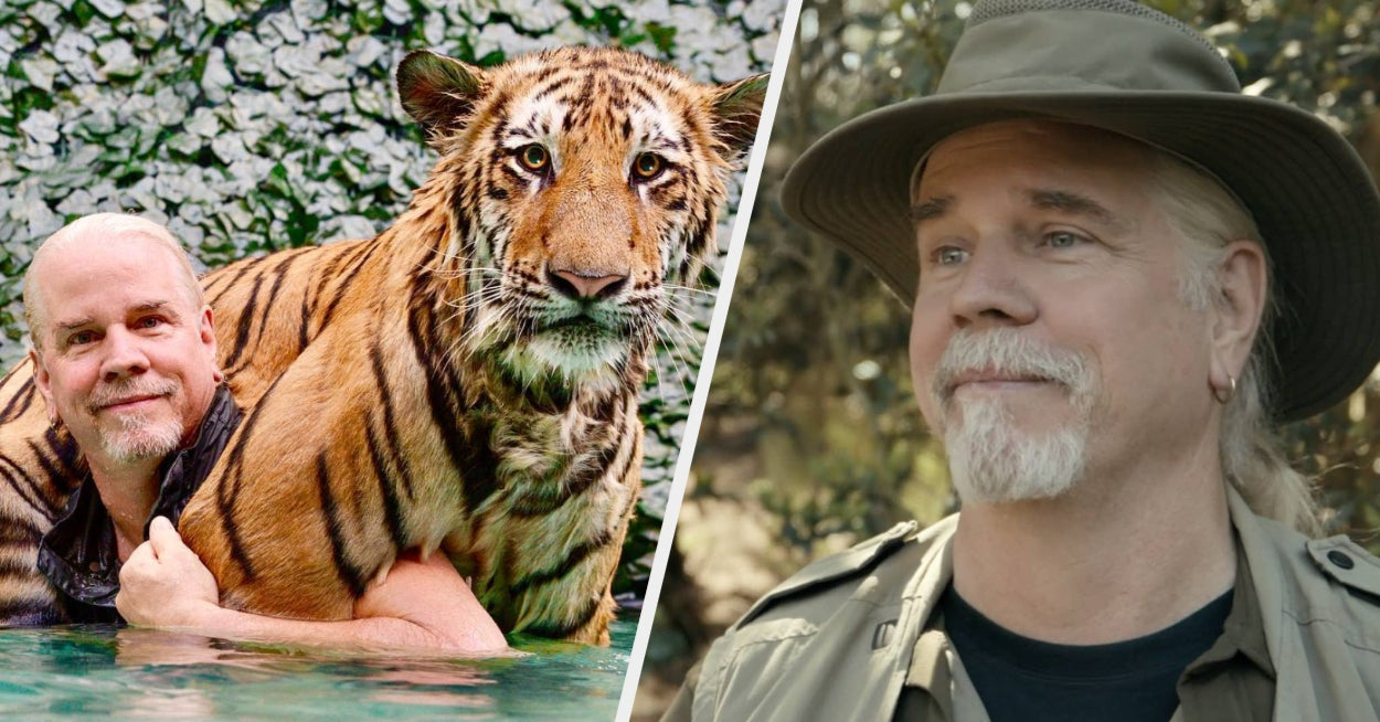 """Doc Antle From """"Tiger King"""" Isn't Happy With How The Documentary Portrayed His Park"""