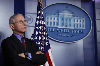 Millions Of People Will Get Sick And The US Is On Track For 100,000 Deaths Because Of The Coronavirus, Fauci Said