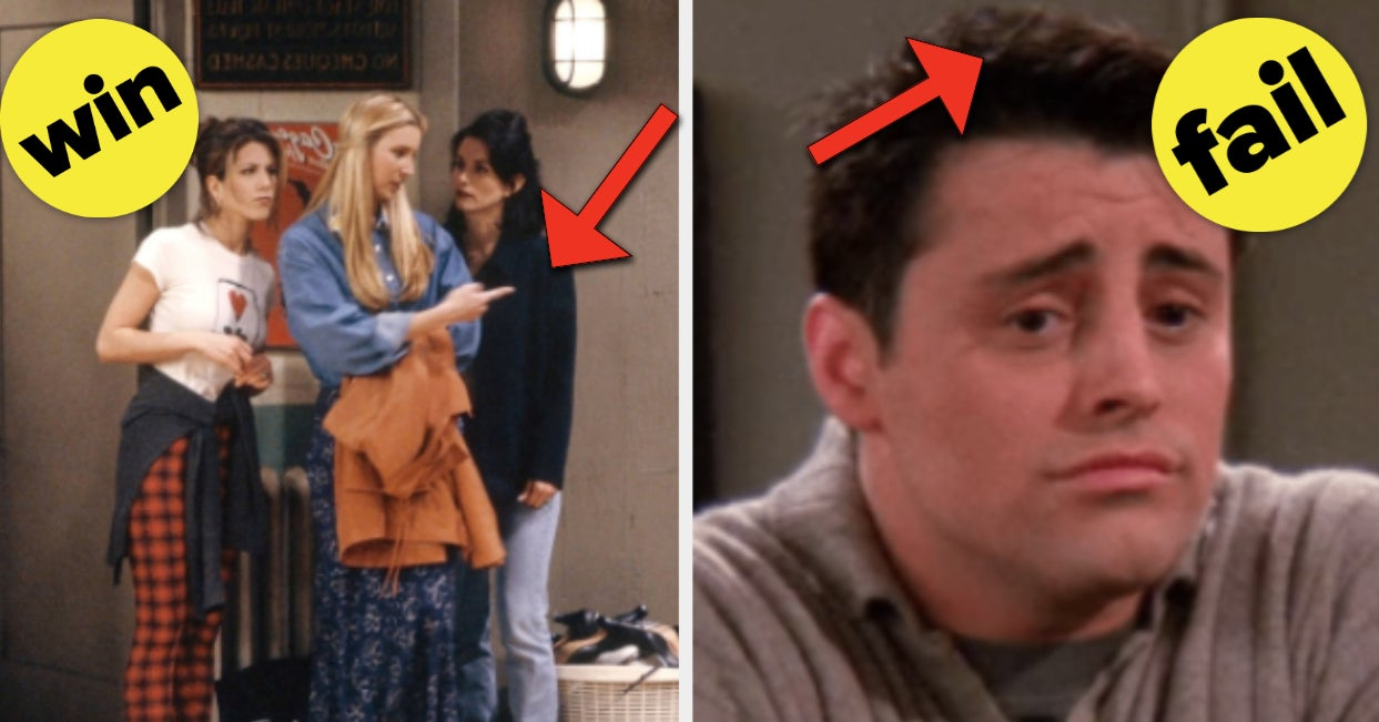 """It's Time To Vote On The Best Outfits And Hairstyles From """"Friends"""""""