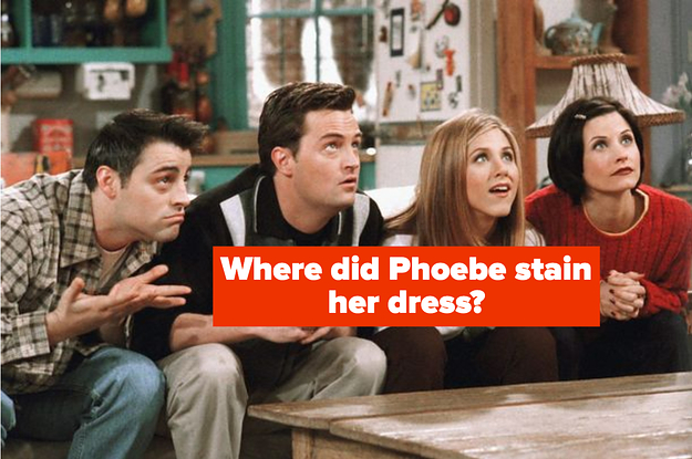 """You'll Only Get 11/11 On This Image-Based """"Friends"""" Quiz If You've Been Paying Really Close Attention"""
