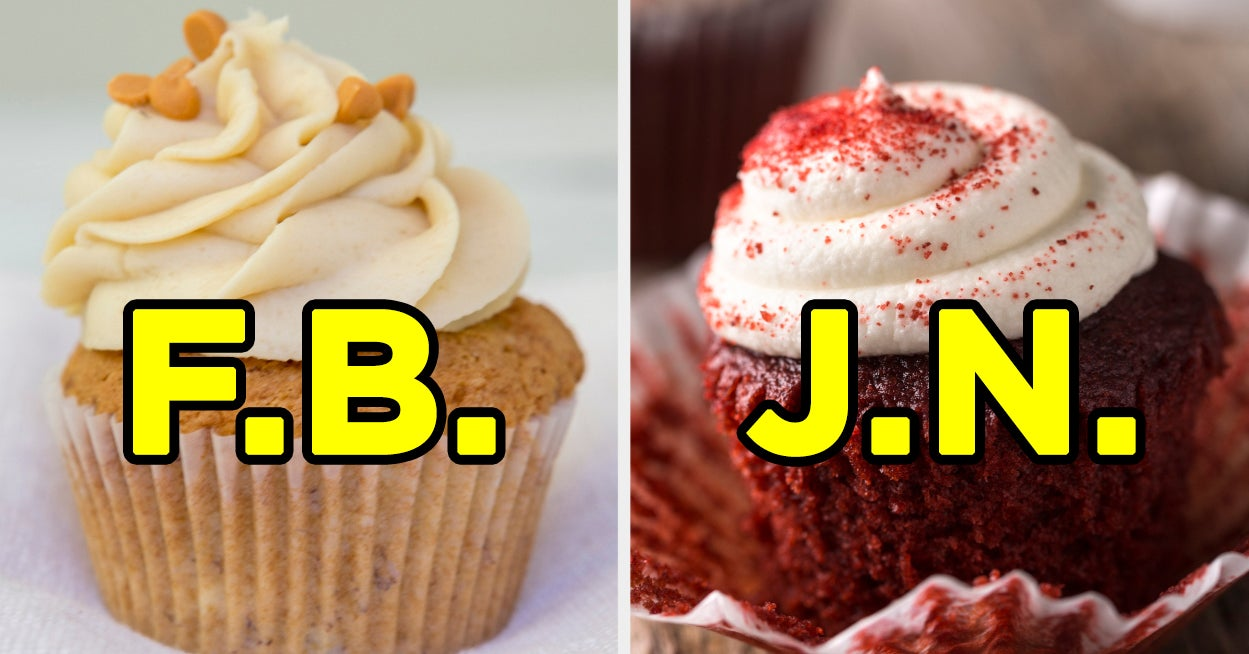 Wanna Know Your Soulmate's Initials? Just Eat Some Cupcakes To Find Out