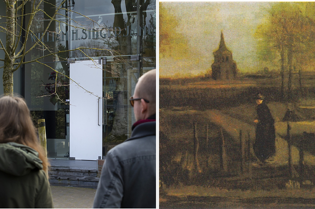 A Museum Closed Due To The Coronavirus. Then Someone Broke In And Stole A Van Gogh Painting.