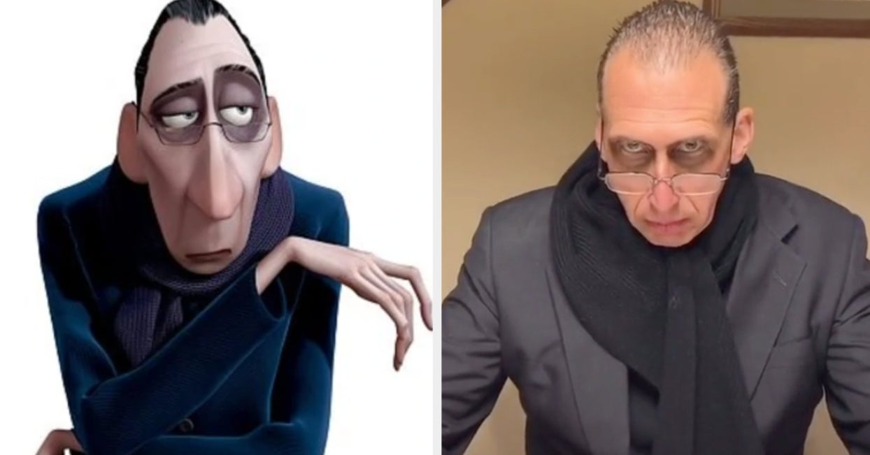 "This TikTok Of A Dad Who Looks Just Like The ""Ratatouille"" Food Critic Is The Doppelgänger I Didn't Know We Needed"