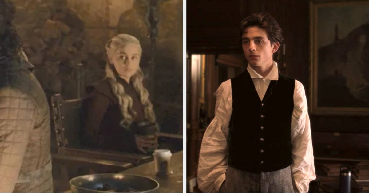 """Somehow It Took Us Months To Notice The Hydro Flask Next To Timothée Chalamet In """"Little Women"""""""
