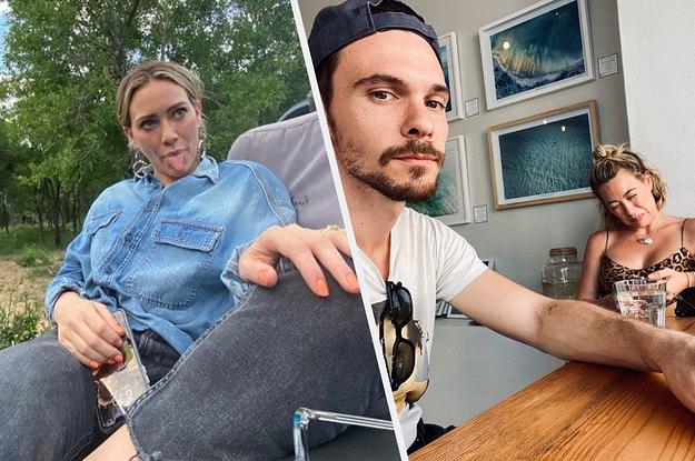 Enjoy These Hilarious Hilary Duff Pics Courtesy Of Her Husband, Matthew Koma, From Quarantine