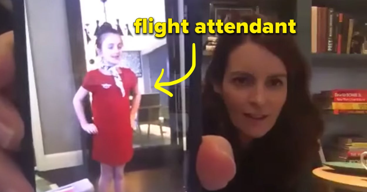 Tina Fey's Daughters Served Her A Pretend In-Flight Meal During Quarantine, And Now They're My Idols