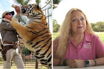 Carole Baskin And PETA Urge The