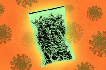 People Are Still Using Cannabis During The Pandemic. How Are They Getting It?