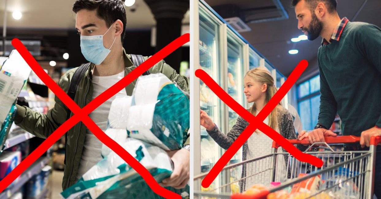 18 Dinge, die du Supermarktangestellten in Zeiten des Coronavirus ersparen solltest