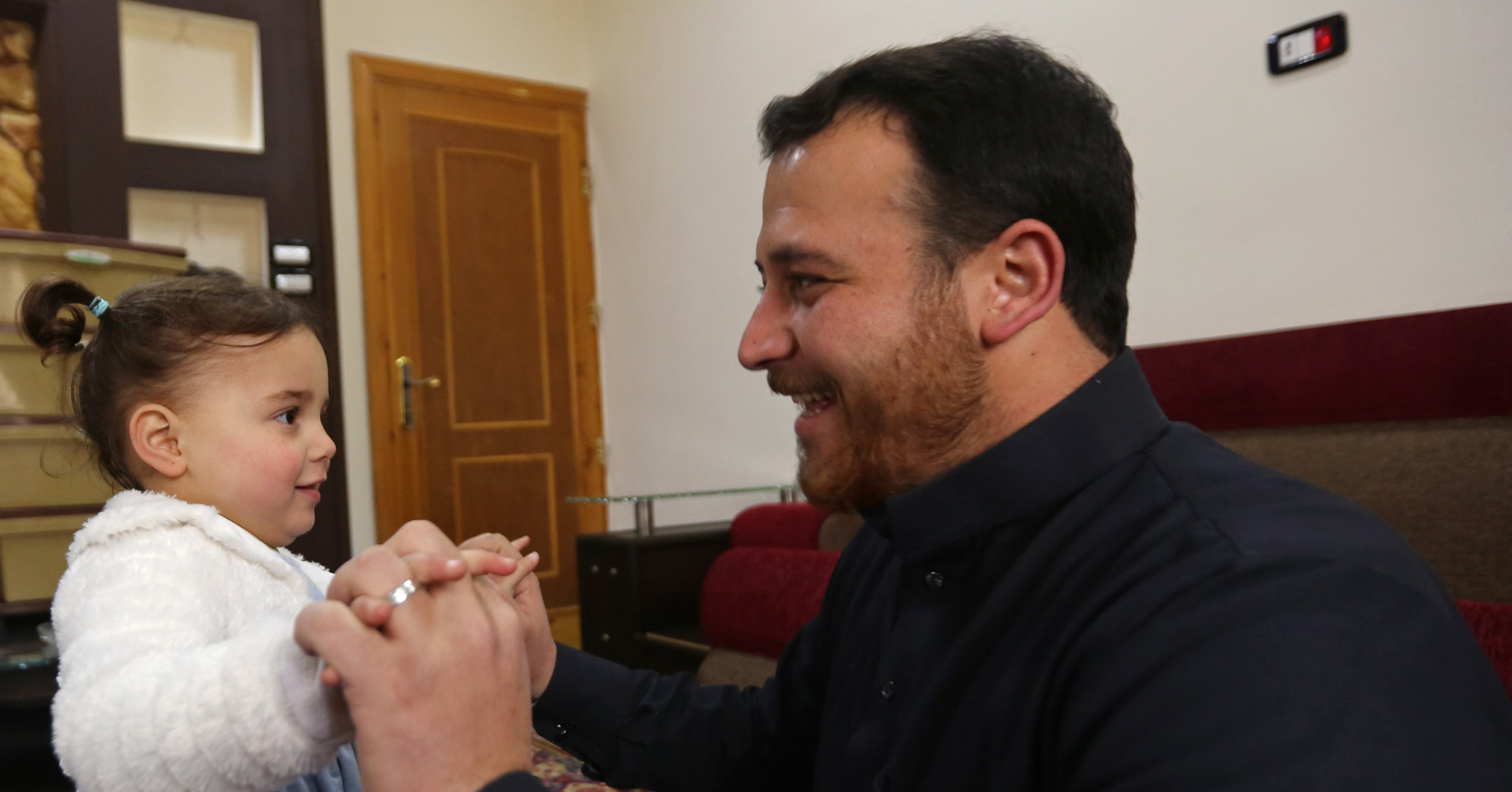 The Syrian Girl Whose Dad Taught Her To Laugh At The Sound Of Bombs Has Reached Safety In Turkey