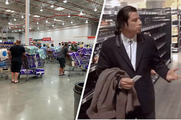 People Are Panicking About Toilet Paper And The Media Is Not Helping