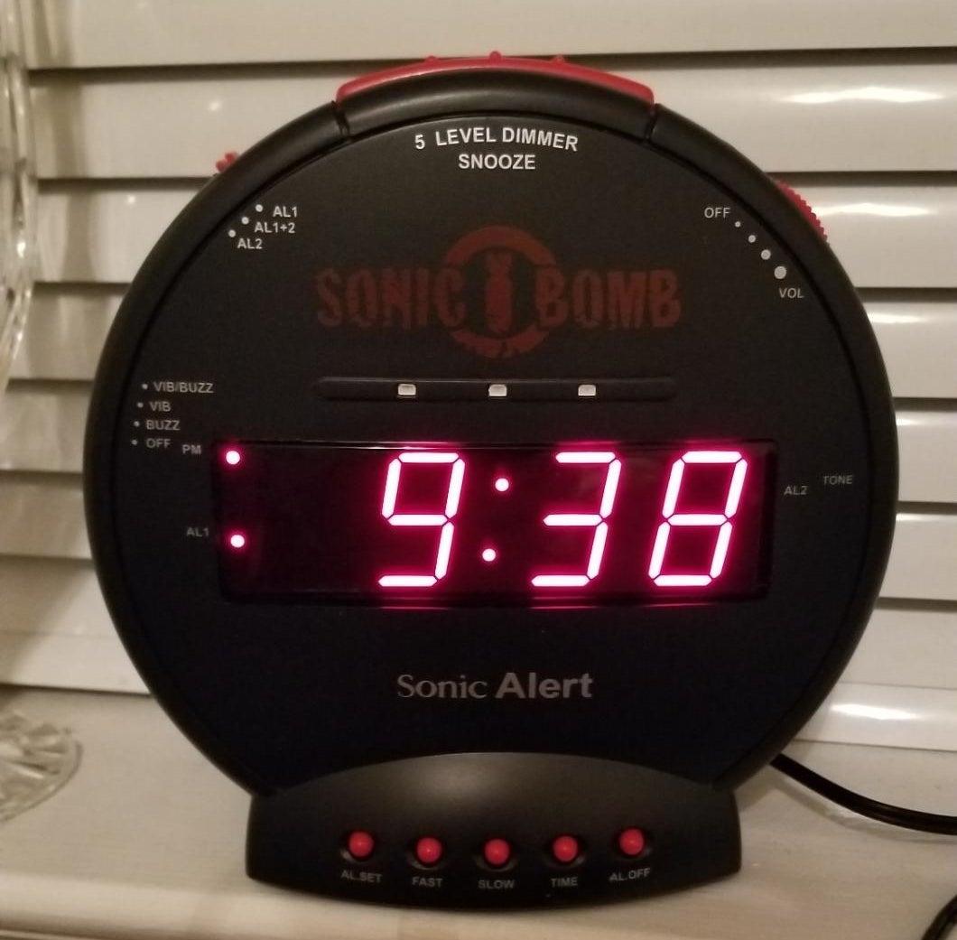 The circle-shaped clock
