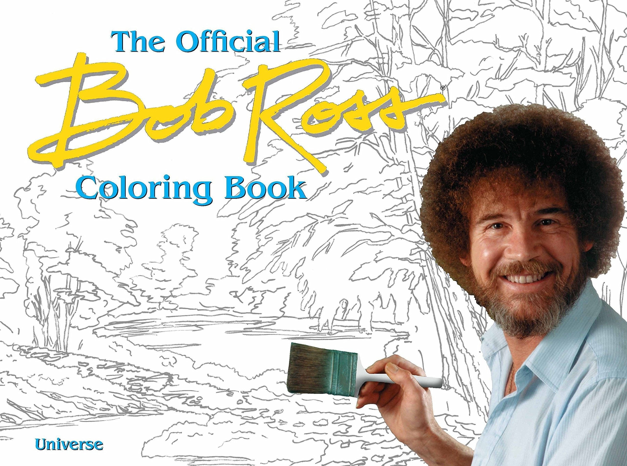 The cover of a colouring book