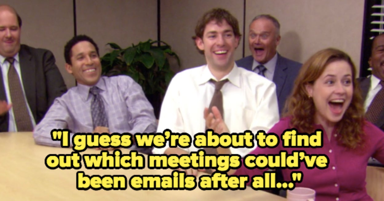 This meeting could have been an email