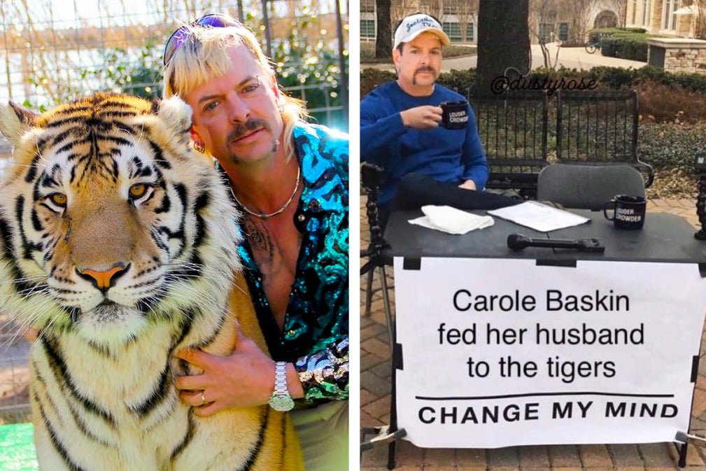 """31 """"Tiger King"""" Memes That'll Keep You Entertained While You're Self-Isolating"""