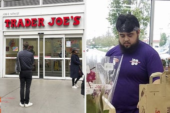 Their Trader Joe's Colleagues Got Sick. Their Stores Are Still Open.