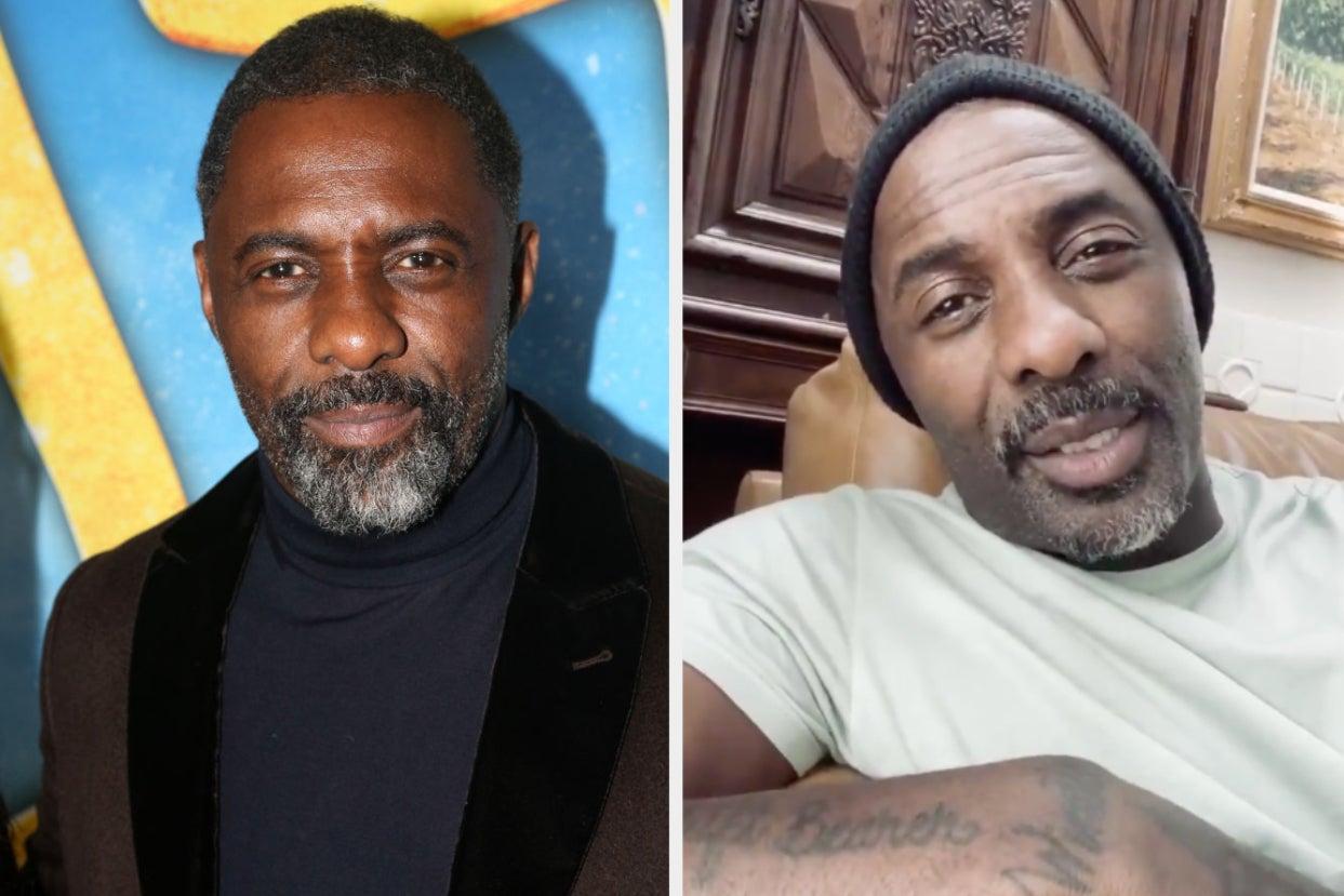 Idris Elba Gives A New Update On His Coronavirus Diagnosis