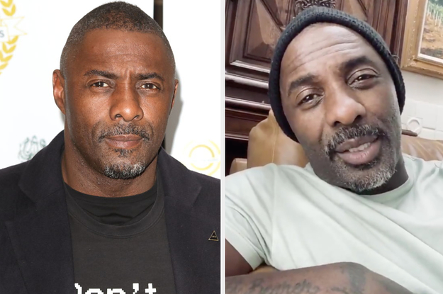 Idris Elba Gives A New Update On His Coronavirus Diagnosis