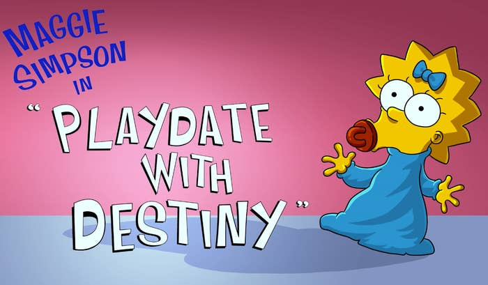 The Simpsons Playdate With Destiny Is Now Streaming On Disney