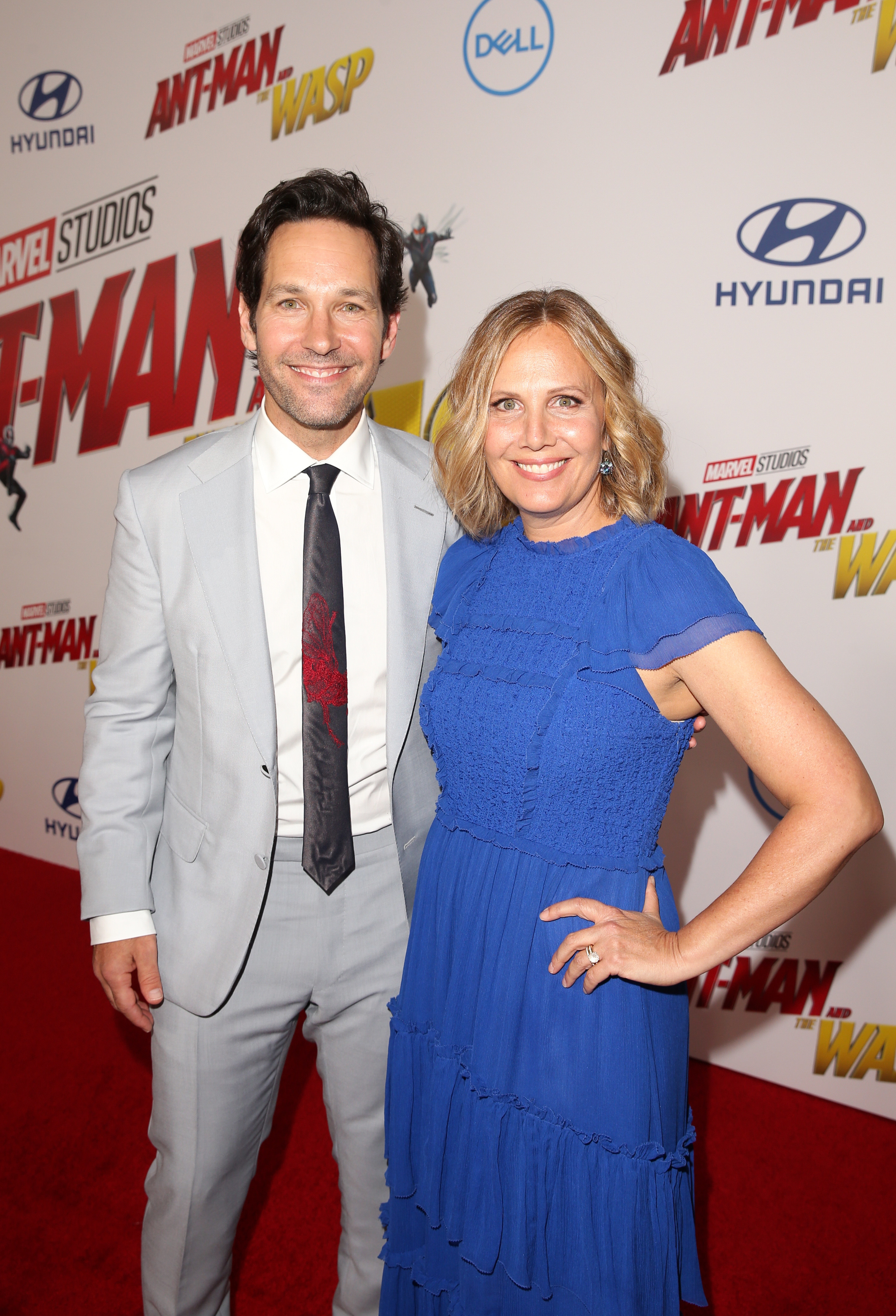 at the antman premiere