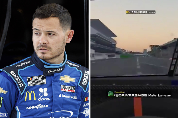 NASCAR Star Kyle Larson Was Fired For Using The N-Word During A Livestreamed Virtual Race
