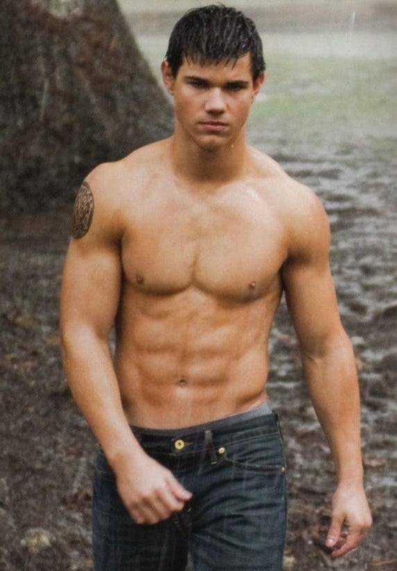 Jacob shirtless
