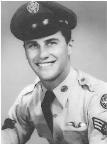 Bob Ross in a military uniform