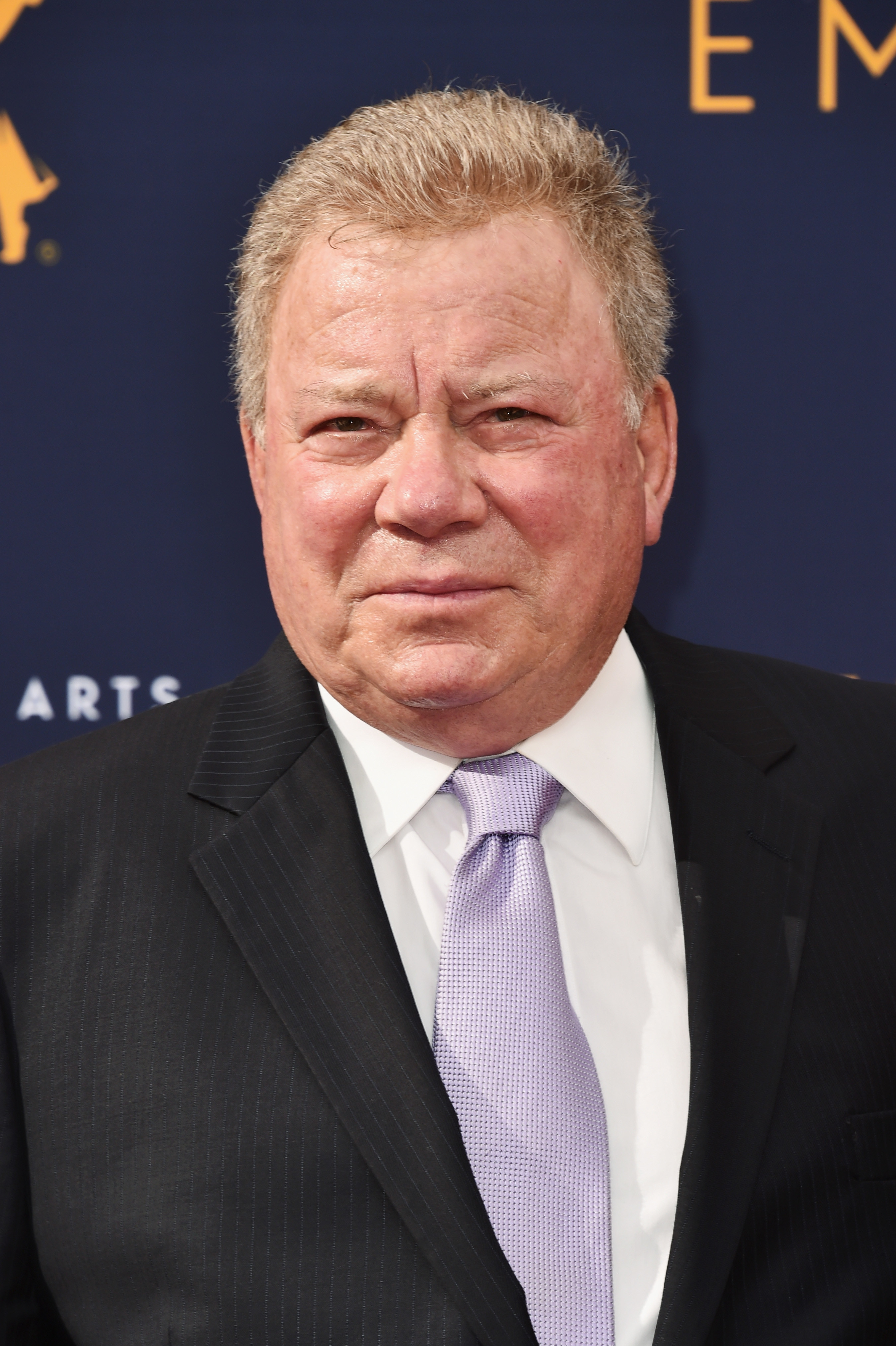 will shatner in a suit