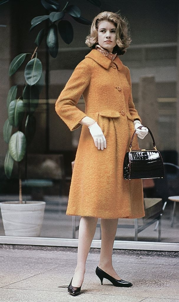 Martha modeling in the 60s