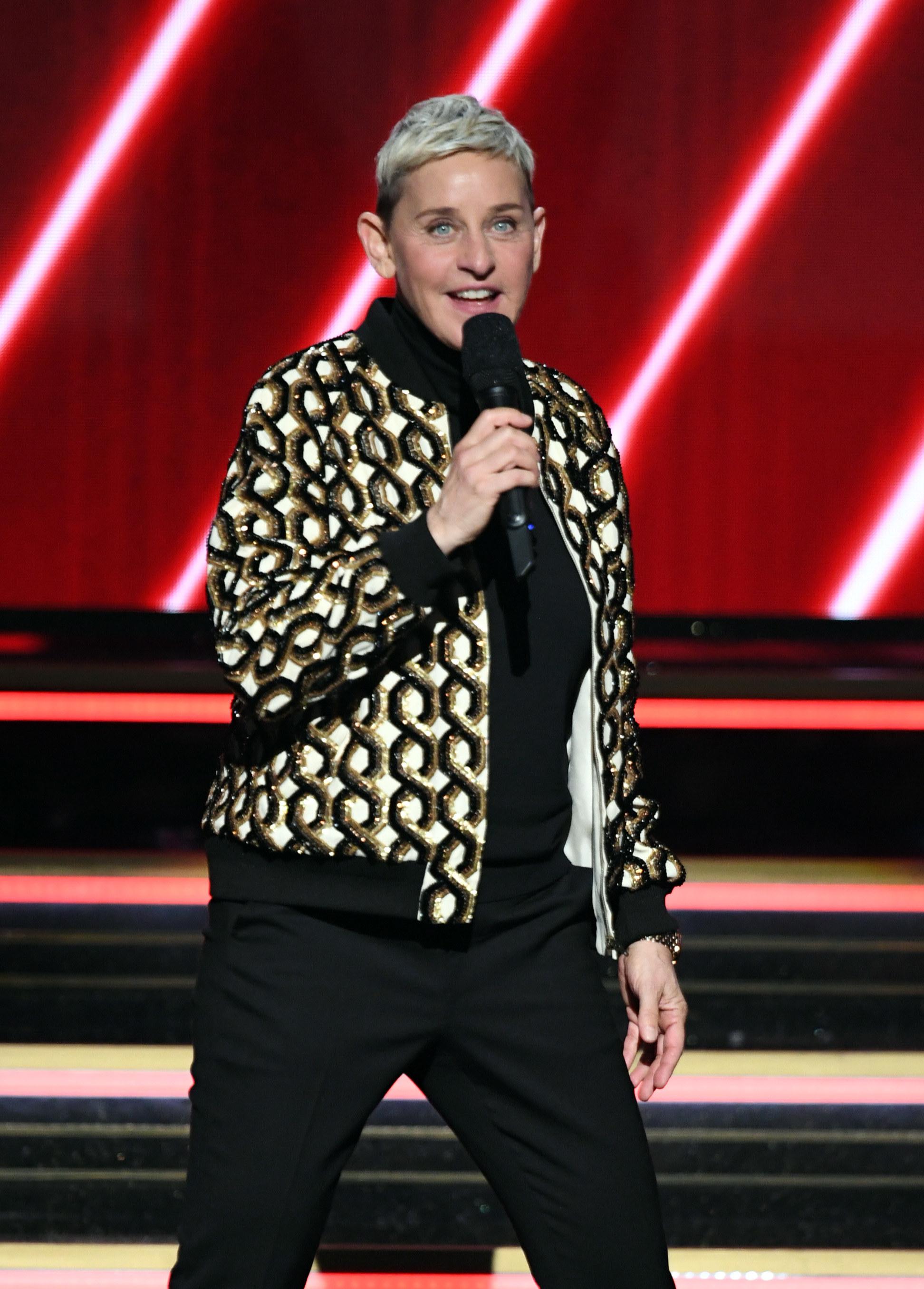 Ellen hosting