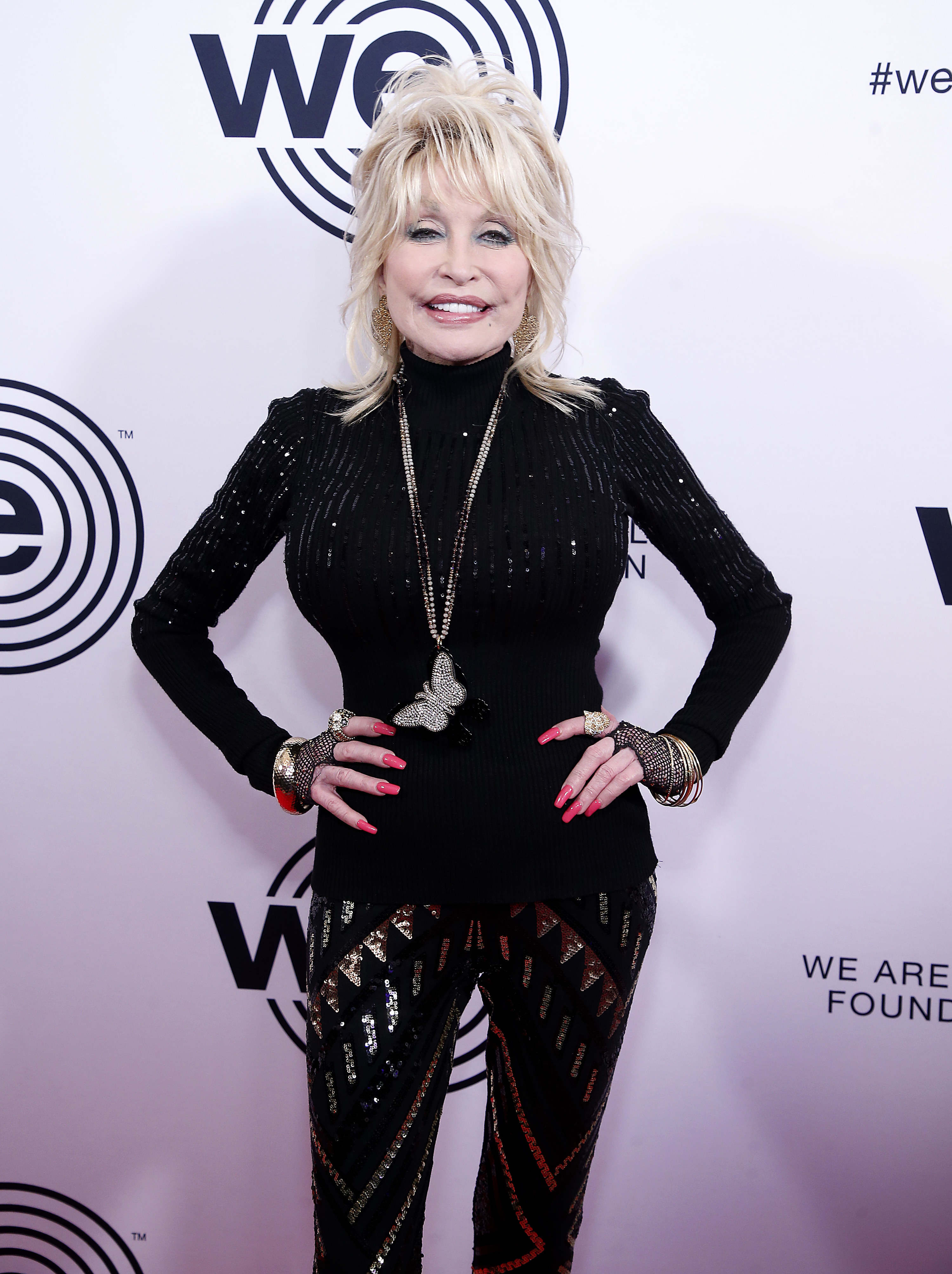 Dolly on a red carpet for We