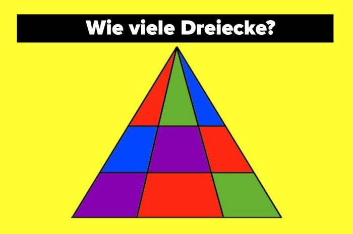 How many triangles?