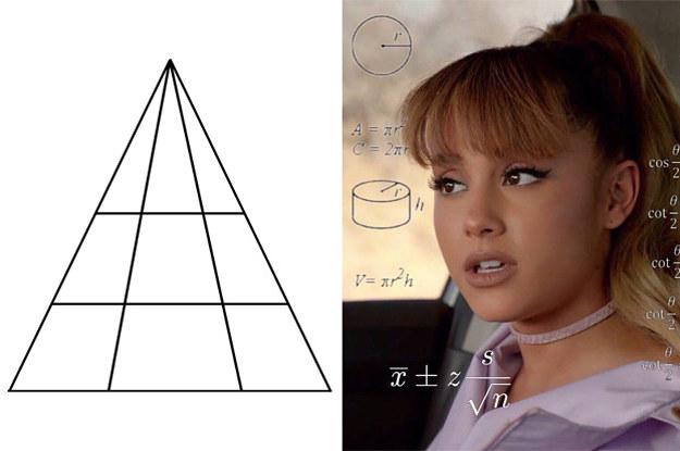 Die Leute sind sich uneinig darüber, wie viele Dreiecke in dieser Denkaufgabe zu sehen sind