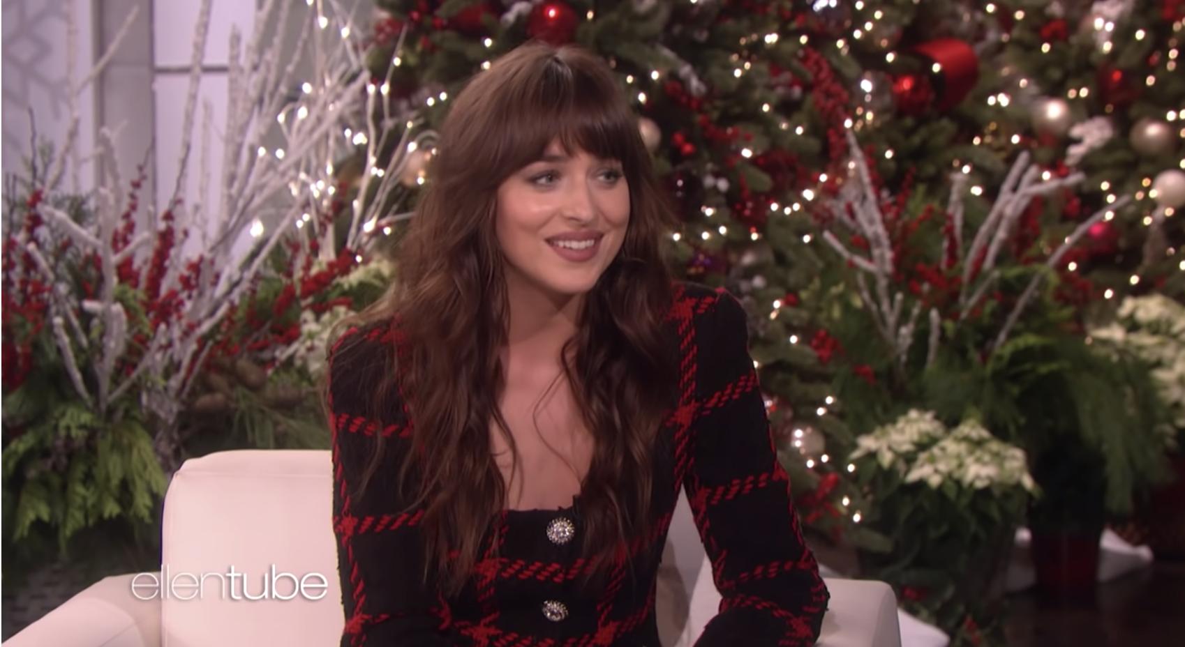 Dakota Johnson on The Ellen Show