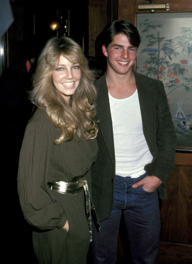 in the 80s with Heather Locklear