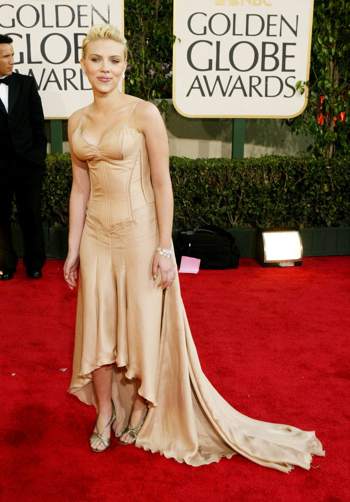at the golden globes
