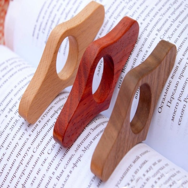 The page holders on a book