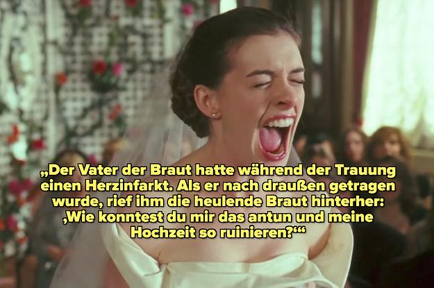 19 Brautjungfern teilen ihre Geschichten über hysterische Bräute