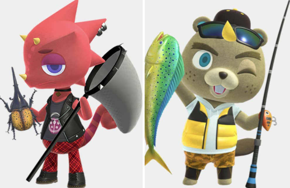 Flick And Cj From Animal Crossing Are A Couple If You Want Them